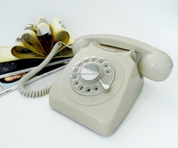ANTIQUE STYLE TELEPHONE 1951TN GPO746 THE CLASSIC FASHION ROTARY OLD FASIHON TELEPHONE