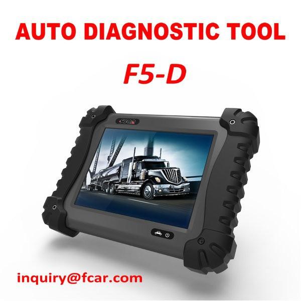 Man truck diagnostic tool fcar f5 d heavy duty diagnostic for Motor vehicle diagnostic machine