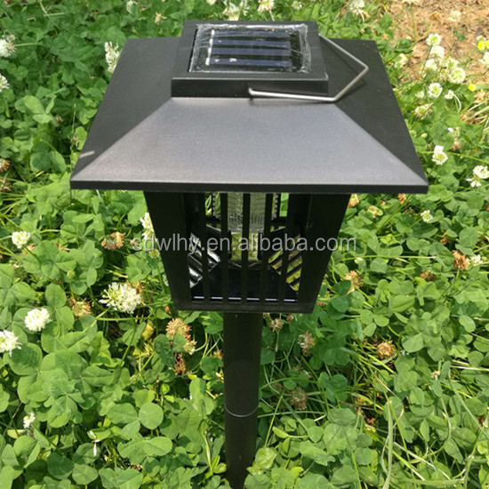 2017 Hot sale Solar energy mosquito killer lamp bug zapper