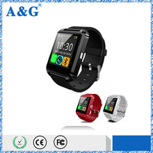 Free sample shipping u8 bluetooth smart watch with CE/Rohs