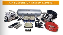 110150 air ride suspension kit system for SUV and car