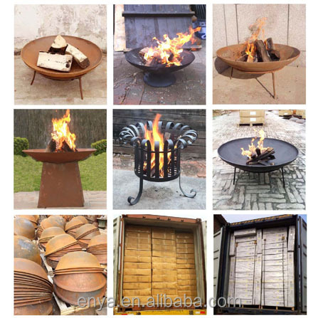 Outdoor Steel Fire Pit