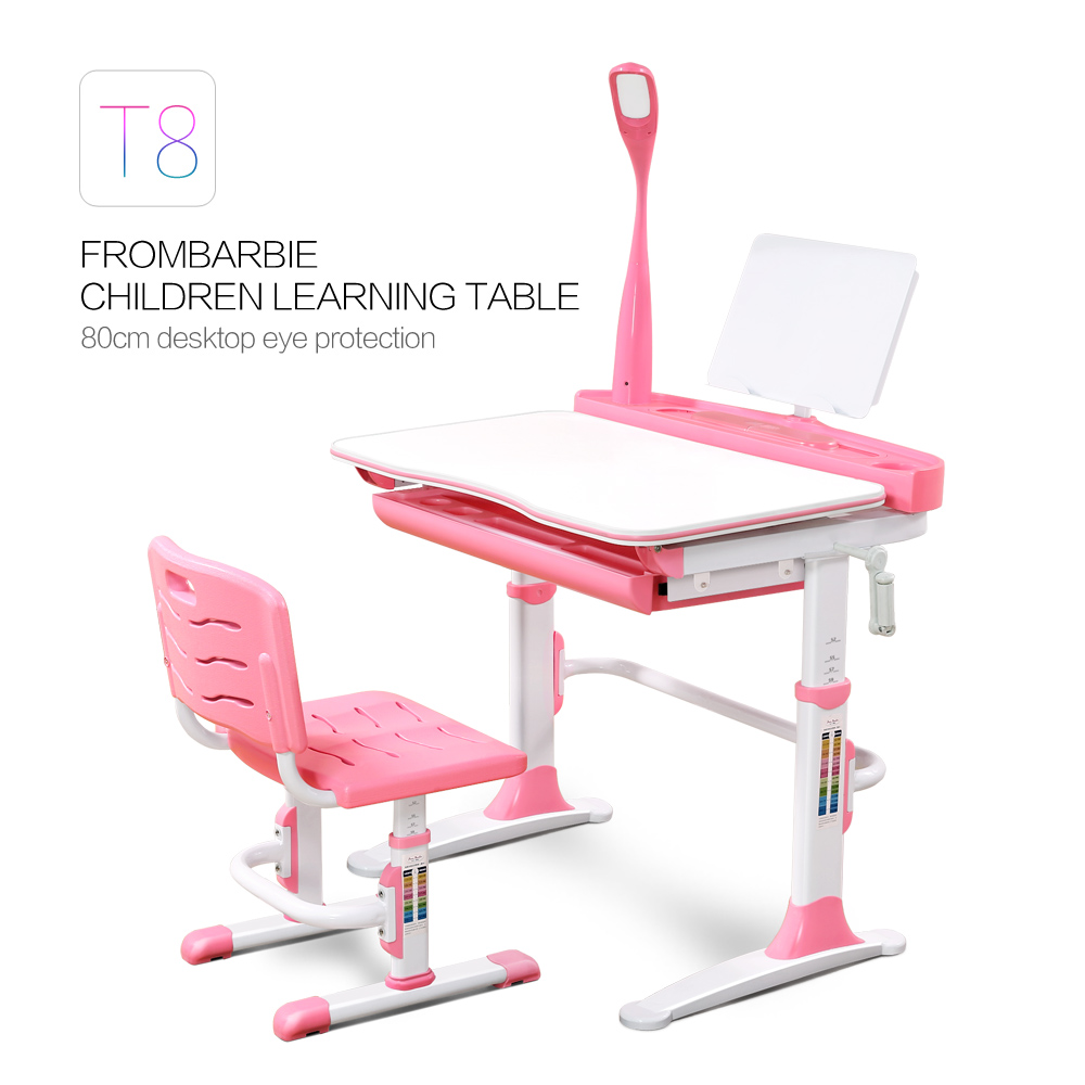 study table with shelf adjustable height children study table and chair