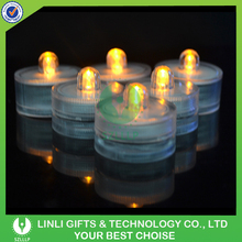 fashionable colorful remote control waterproof led candle
