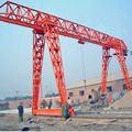 10 ton MH Electric Single Girder Gantry Crane truss type