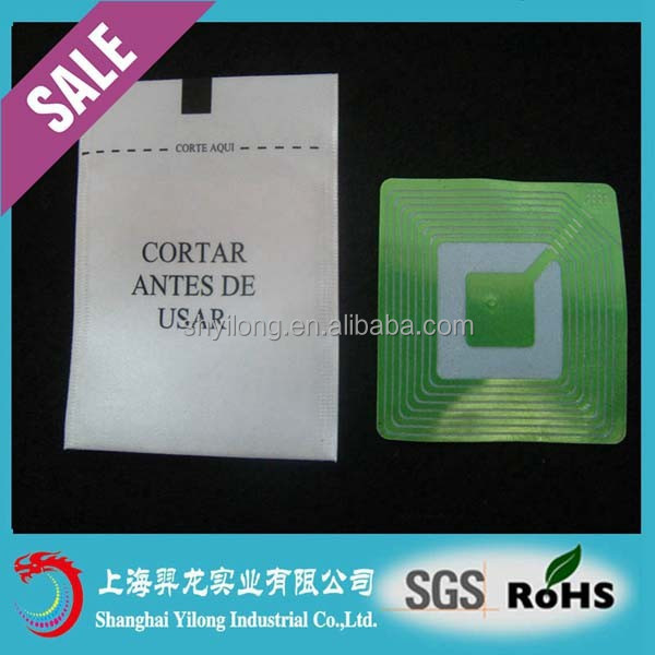 EAS Security soft RF Label ZLDRS1/ZLDRS2 Label with good price used in shop YL-RF16