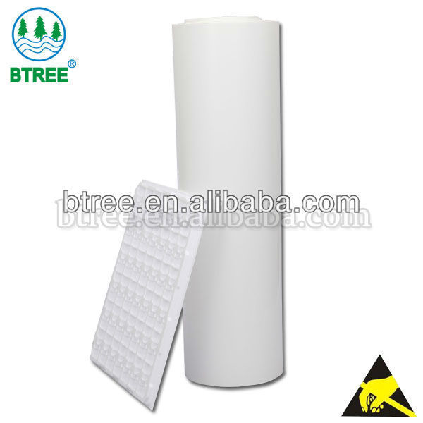 Btree Antistatic APET Sheet For Electronic