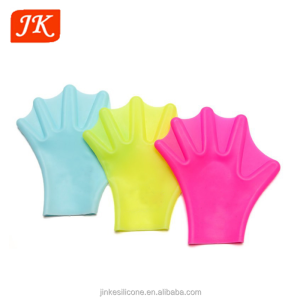 silicone gloves swim palm,diving summer silicone swimming gloves,swimming equipment