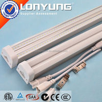 Linear T5 LED Integrative Double Tube 1-8ft 8-60w ego t5 ETL DLC TUV SAA