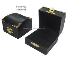 Antique ring box style luxury championship display multiple ring box