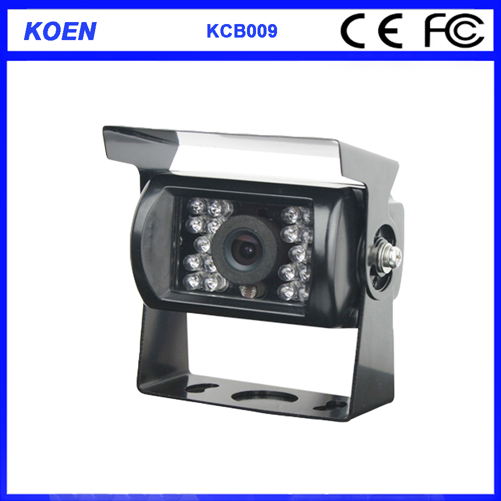 Koen Waterproof IP69K 12V 24V Infared 600TN Lines Sony CCD Rear View Camera
