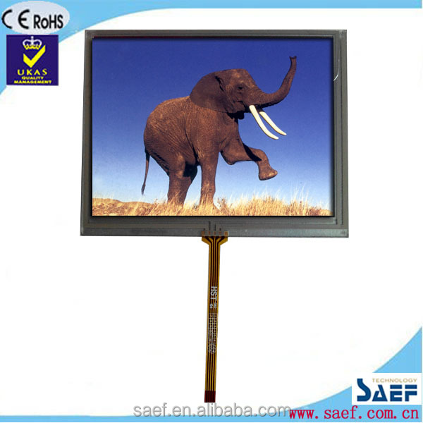 "5.6"" tft lcd landscape type WVGA 640x480 dots tft lcd module without TP"