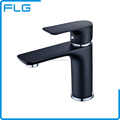 High Quality Black Painting Brass Basin Faucet Mixer