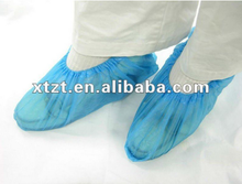 CPE shoe cover with emboss surface for medical and surgical use/medical consumables