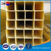 Pultruded FRP Rectangular / Square Tube / Hollow Sections