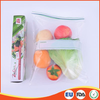 Ziploc custom clear plastic bag sealer