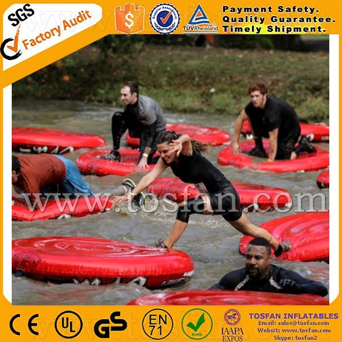Water floating inflatable disk A9052B