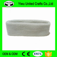 2016 new fashion cheap hot promotional embroidery 100% cotton sports headbands
