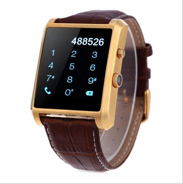 1.54 Inch Touch Screen Watch MTK2502 Bluetooth 4.0 Android Smart Watch