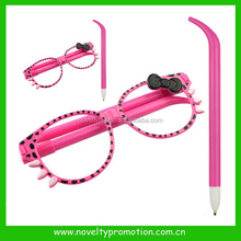 Kids fancy sunglasses pen , eyeglasses pen
