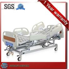 SJ-YM004 ABS material 3-crank manual refurbished hospital beds