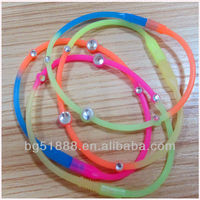 blood circulation silicone wristband