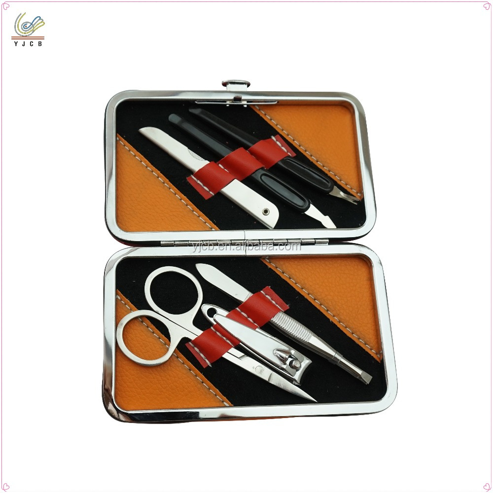 New design manicure and pedicure set manicure set travel nail care set