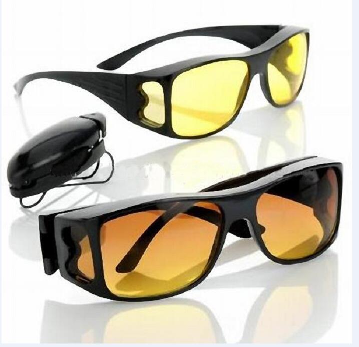 HD Night Vision Unisex Driving Fit over Sunglasses Nice Over Wrap Around Glasses