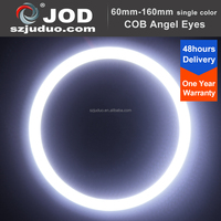 4pcs White 100mm Car Angel Eye Headlight COB Auto LED Ring Light with Best Price