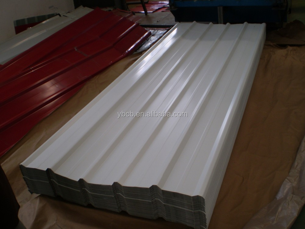 Galvanized corrugated metal roofing panel/PPGI,GI/Hot rolled