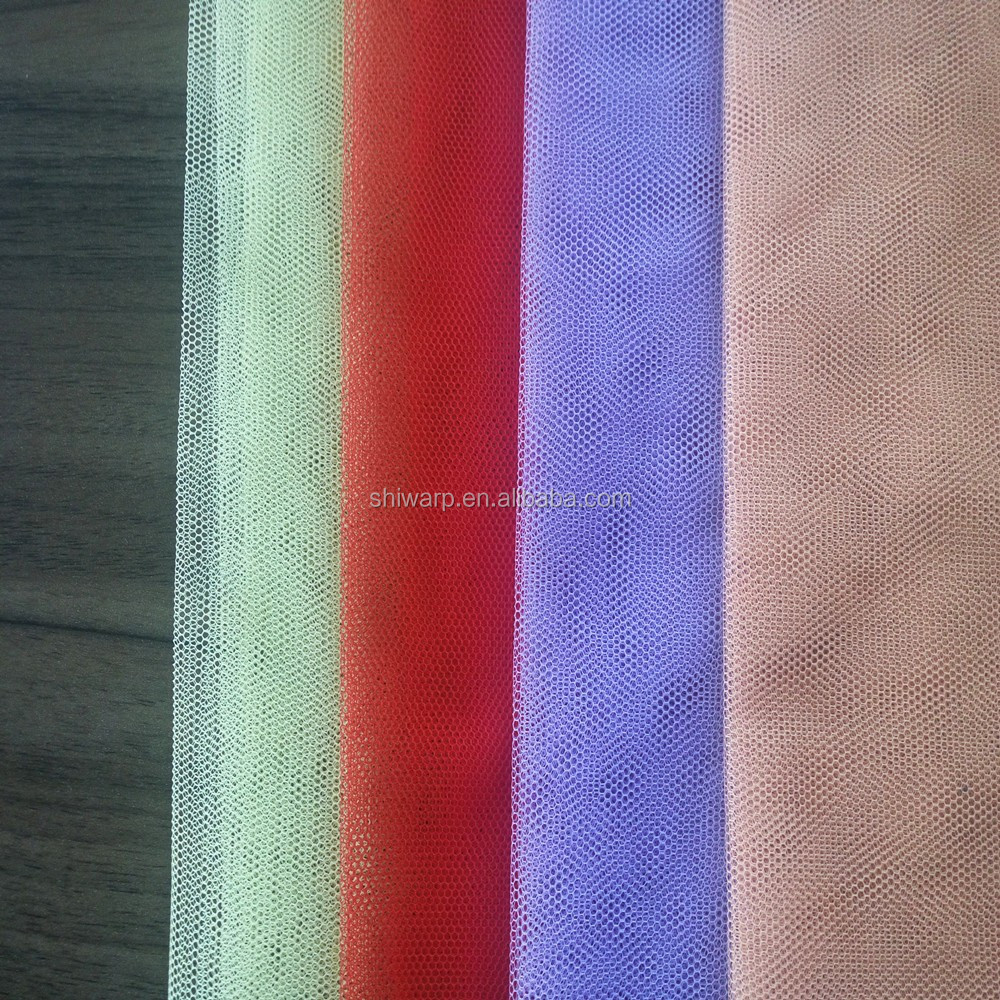 Wholesale China Textile Fabric 100% Polyester Mesh Fabric For Curtain