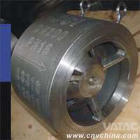 Tilting Disc Non slam check valve 557