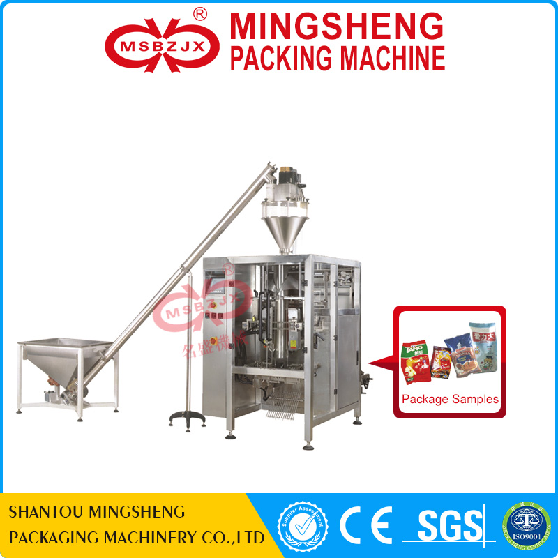 JX027 Automatic gusset bag detergent powder packing machine