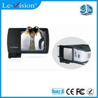 Home 3D cinema system,3D Mini LCD modulator used for DLP projectors, Mini 3D home theater system DLP link or VESA
