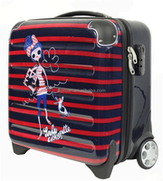 ladies laptop trolley bag 2014 new design fashion luggage travel bags luggage ABS/PC trolley luggage