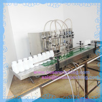 Small Automatic Filling Machine 4heads for e liquid, essential oil, perfume, eyedrop