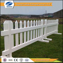 plastic temporary picket fences
