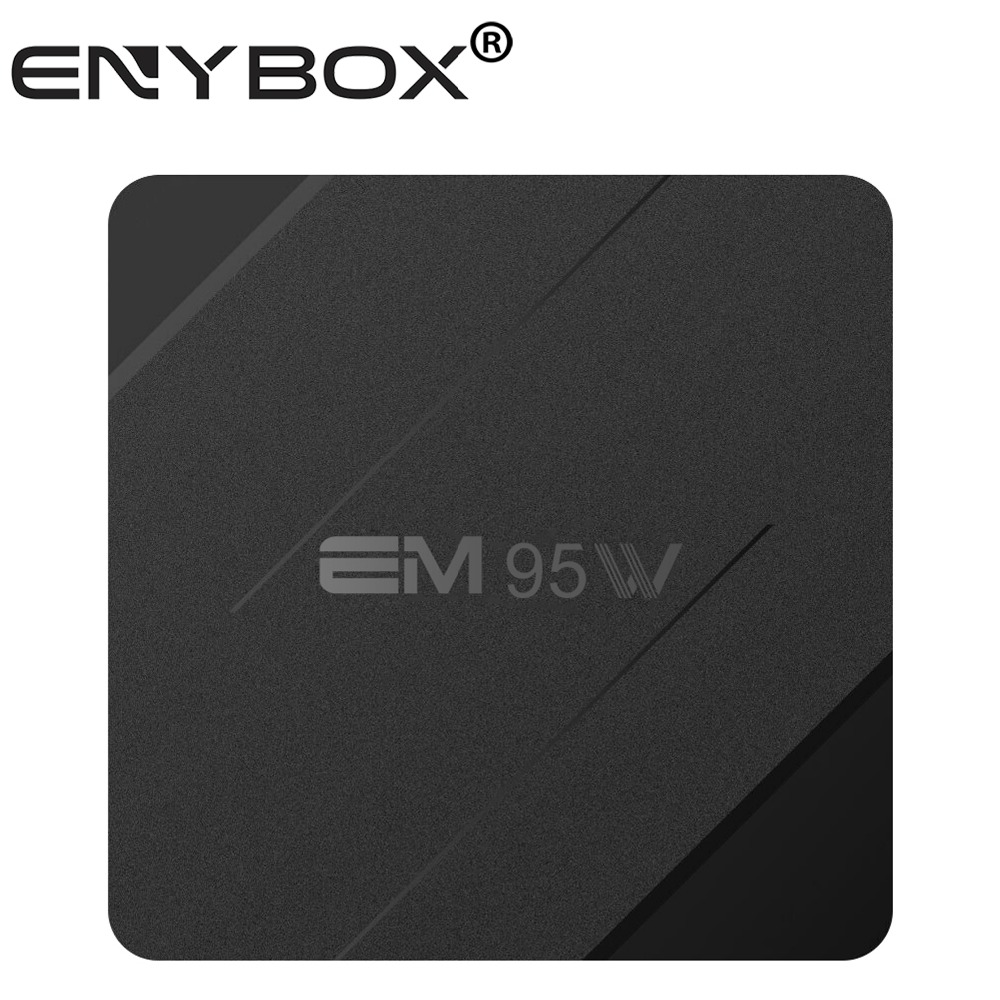 OEM/ODM Manufacturer Supplies EM95W Android 7.1.2 smart tv box with remote control .