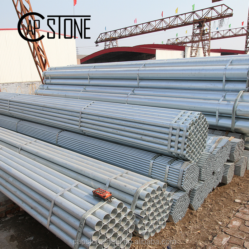 how to identify 6 inch galvanized steel pipe properties