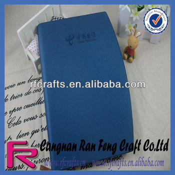 A5 Embossed PU Leather Notebook
