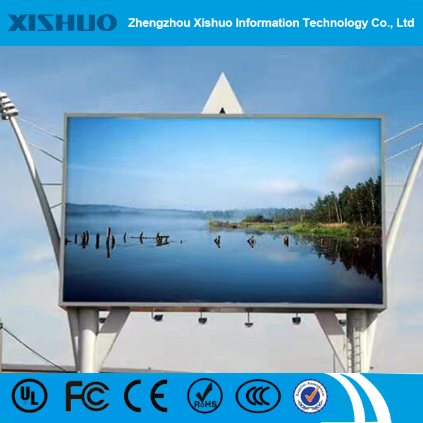 high brightness advertising P8 outdoor led display Waterproof led sign board