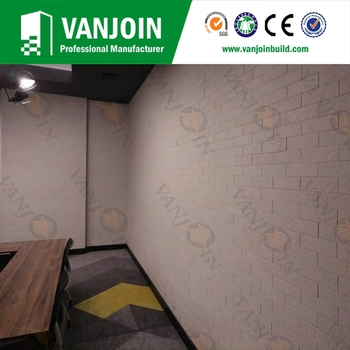White Color Flexible Split Brick Tile for Interior Walls