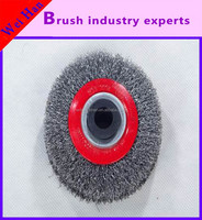 Supply all kinds of grinding, polishing, rust removing steel wire wheel brush