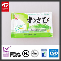 5g min sachet wasabi pasty for sushi buffet