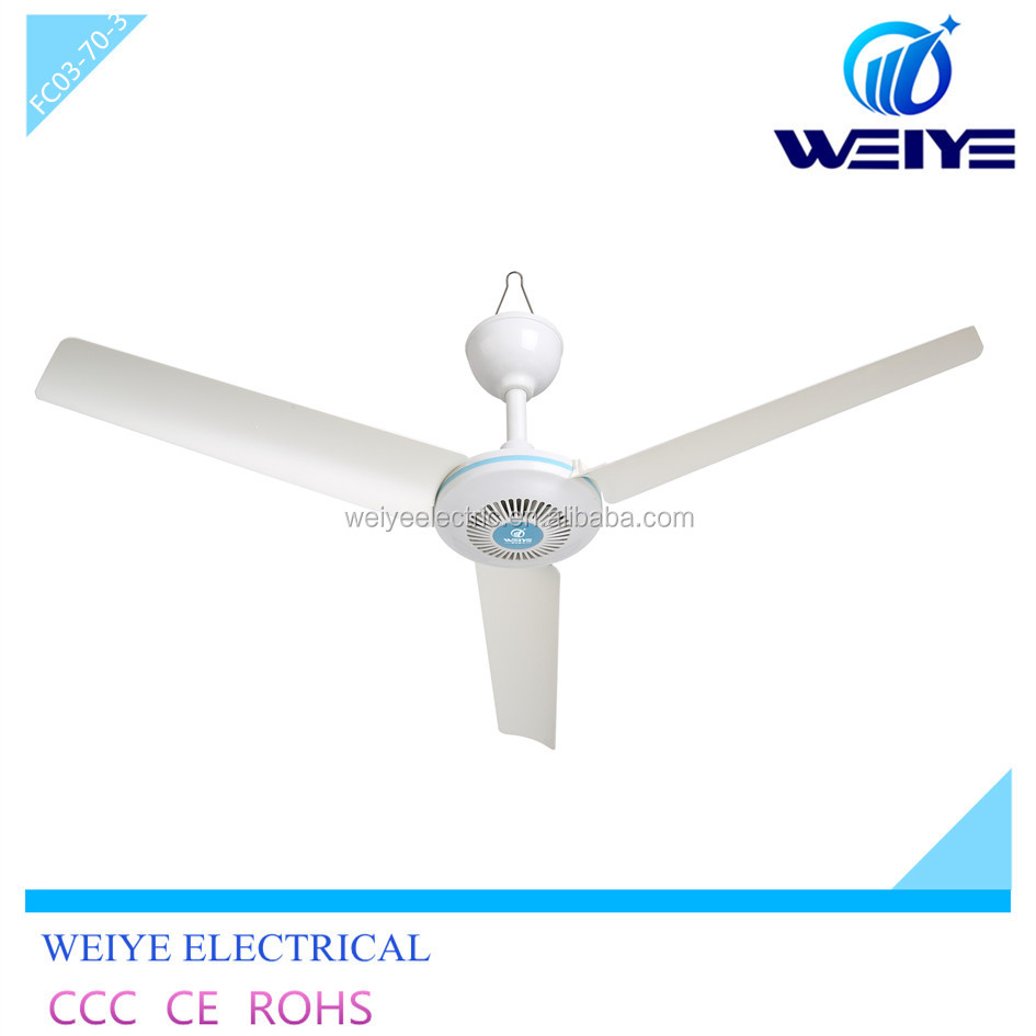 12V DC fan home ceiling fans 700mm solar fans household good quality