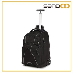 Backpack trolley bag, cheap trolley backpack with wheels