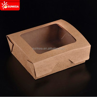 Christmas cheap custom clear cupcake boxes wholesale