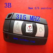 Top key for Bw 3 service 3 button remote smart key 315 mhz