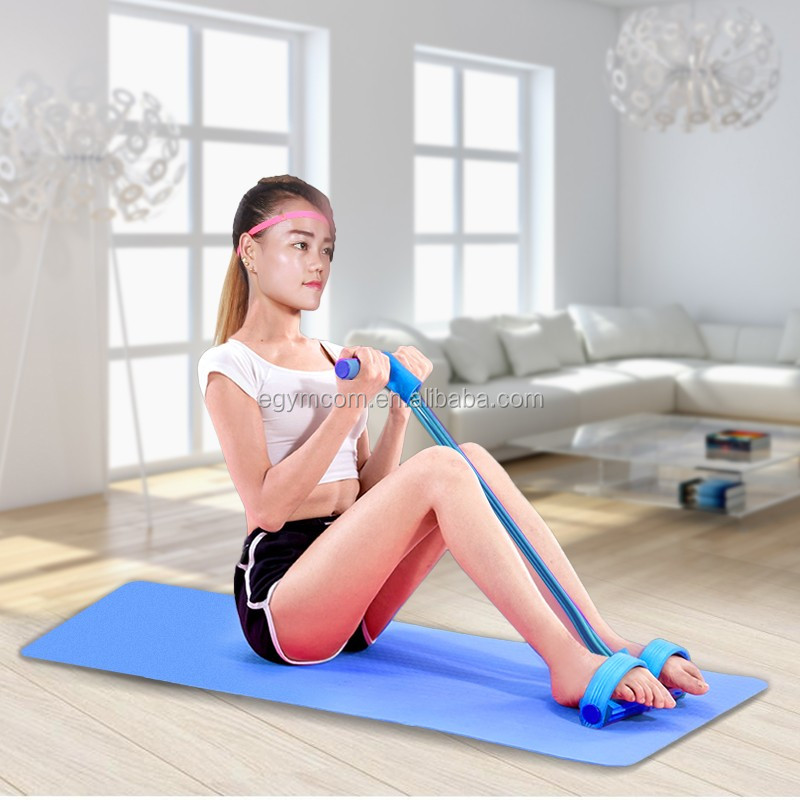 Slimming Body Shaping Resistance Bands Exercise Training Pull Rope Pedal Fitness Equipment