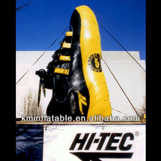 giant advertising inflatable shoe